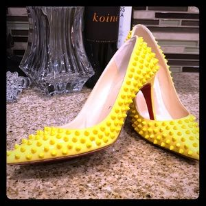 Christian Louboutin 85mm Pigalle Spikes